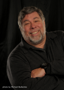 Photo of Steve Wozniak, HighEdWeb 2013 Keynote Speaker